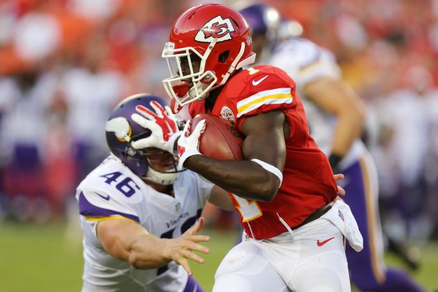 Chiefs' De'Anthony Thomas Switches to Jersey No. 13