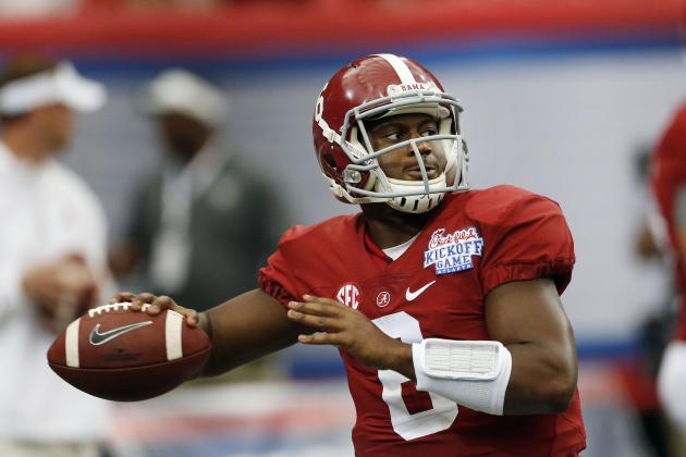 Blake Sims Debuts for Alabama: Final Stat Line, Analysis and Twitter Reaction