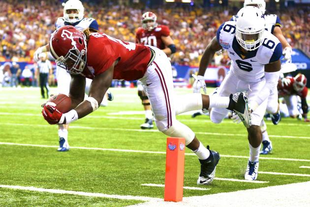 WVU vs. Alabama: Score and Twitter Reaction