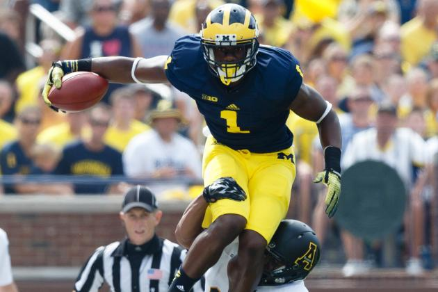 Devin Funchess Gives Michigan Hope for Strong 2014 Season