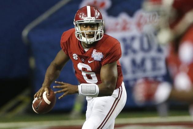 Alabama Football: Grading Blake Sims' Week 1 Performance