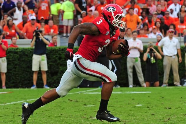 Todd Gurley vs. Clemson: Final Stat Line, Highlights and Twitter Reaction
