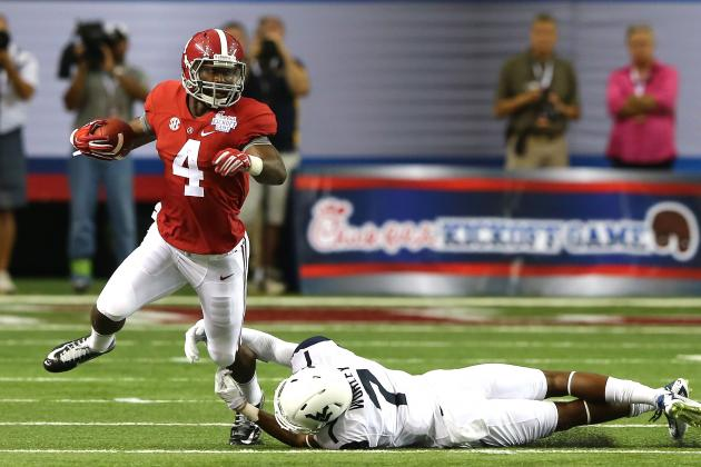 T.J. Yeldon's Heisman Campaign Still Has Long Way to Go Despite Strong Opener