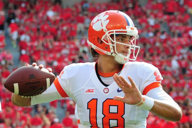 Cole Stoudt's Performance at UGA Creates More Questions Than Answers for Clemson