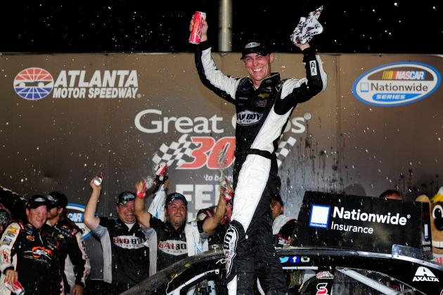 NASCAR Nationwide Series at Atlanta 2014: Results: Winner, Standings, Reaction