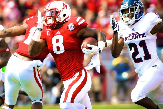 Nebraska's Ameer Abdullah Announces Heisman Candidacy with Insane Week 1 Showing