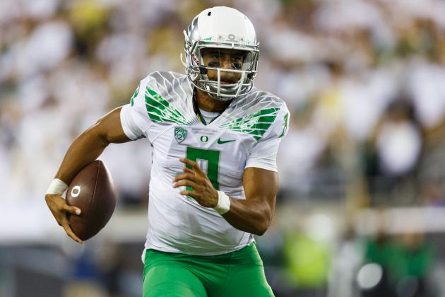 Marcus Mariota vs. South Dakota: Final Stat Line, Highlights, Twitter Reaction