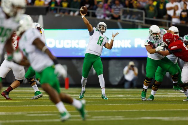South Dakota vs. Oregon: Game Grades, Analysis for  the Ducks
