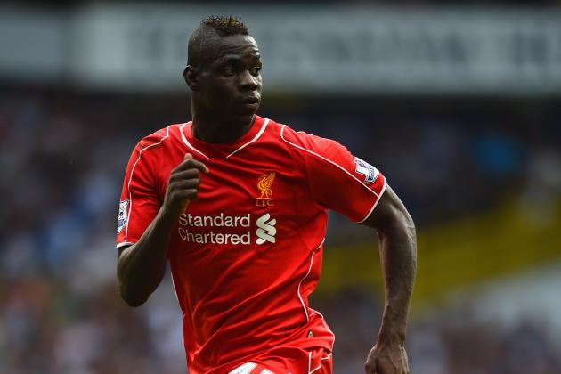 Twitter Reacts to Mario Balotelli, Steven Gerrard, Raheem Sterling vs. Tottenham