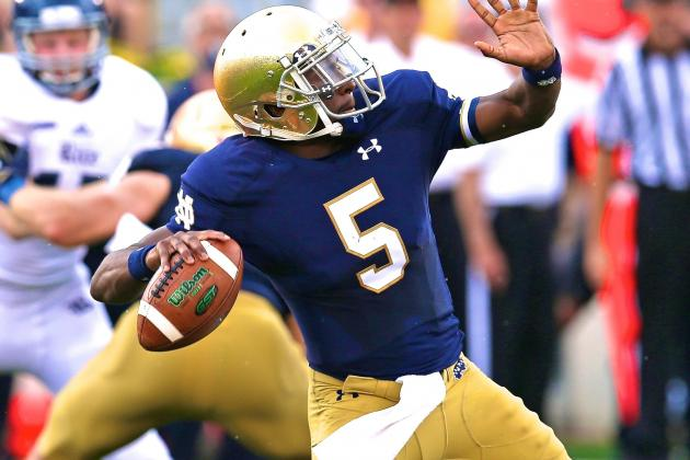 Everett Golson's Return, New Weapons Give Notre Dame Pop It Needs on Offense