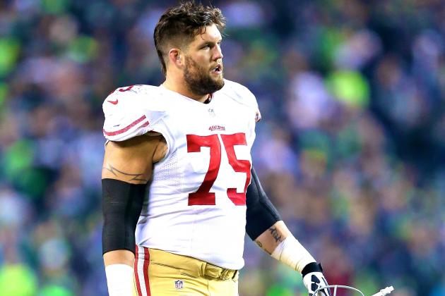 Alex Boone and 49ers Agree on New 2-Year Contract to End Holdout