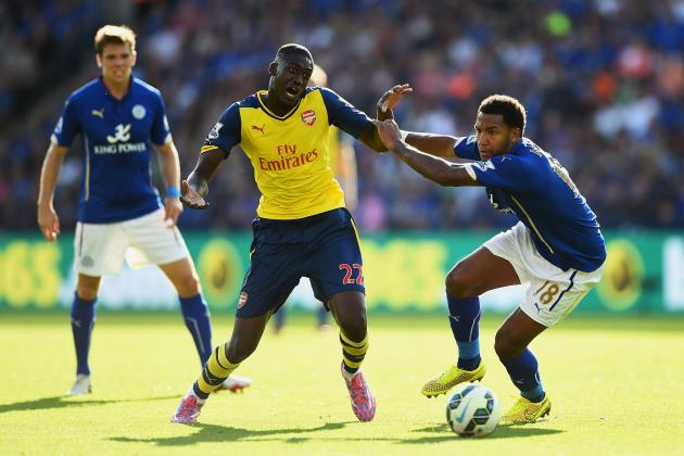Yaya Sanogo Performance Against Leicester Shows Arsenal Still Need a New Striker