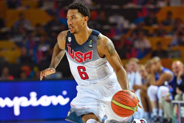 USA Basketball vs. Turkey: Live Score and Highlights for FIBA World Cup 2014