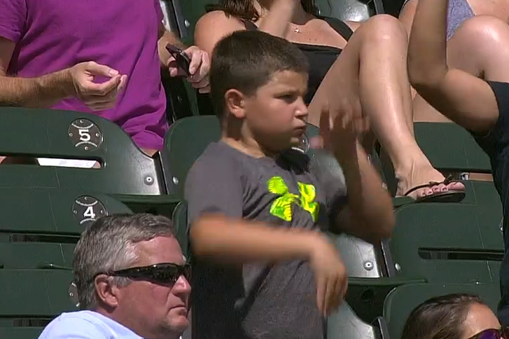 Young White Sox Fan Shows Off Dance Moves at US Cellular Field