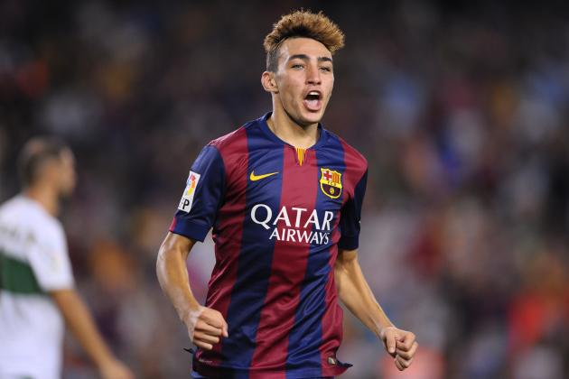 What can Barcelona expect from Munir El Haddadi in the 2014/15 Liga season?