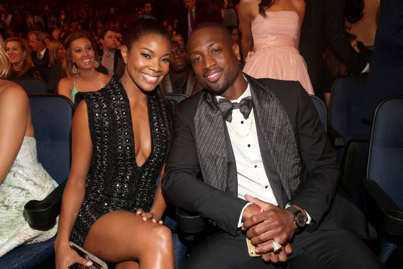 Dwyane wade gabrielle union wedding attendees photos location los angeles ca july 17 actress gabrielle union l and nba junglespirit Gallery