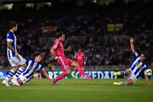 Twitter Reacts to Gareth Bale's Performance from Real Sociedad vs. Real Madrid