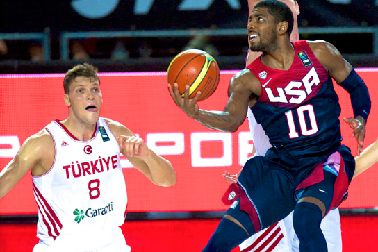 USA vs. Turkey: Score and Twitter Reaction for FIBA World Cup 2014