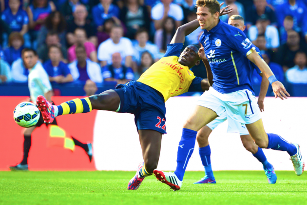 Yaya Sanogo Performance Against Leicester Shows Arsenal Still Need a New Striker
