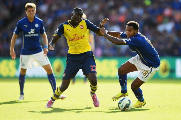Arsenal's Draw with Leicester Is Proof Yaya Sanogo Cannot Be Trusted