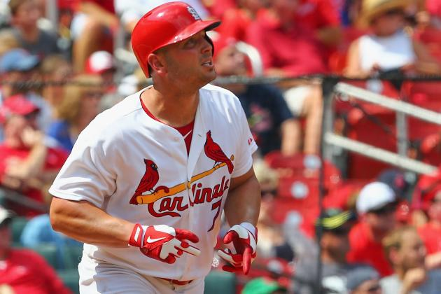 Holliday Giving Cardinals Plenty to Celebrate