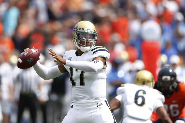 Brett Hundley Needs Help from Supporting Cast to Keep UCLA in Contention