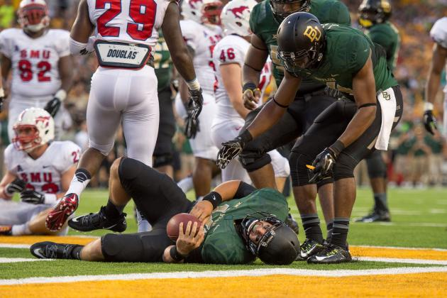 Baylor vs. SMU: Art Briles Wise to Use Caution with Bryce Petty's Injury in Rout