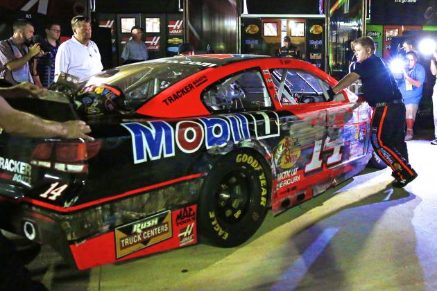 Classic Tony Stewart on Display in Atlanta Before Return Ends in Disappointment