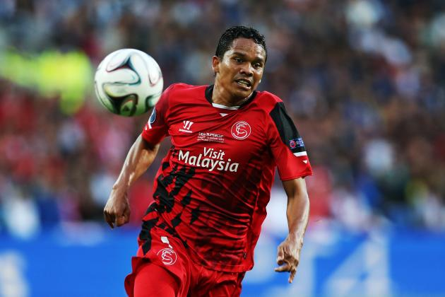 Arsenal Transfer News: Carlos Bacca Eyed as Arsene Wenger Targets Deadline Deal