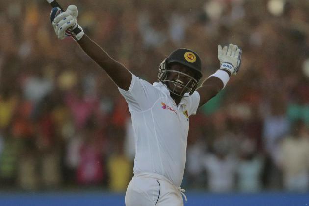 Angelo Mathews: World Cricket's Batsman of the Month, August 2014