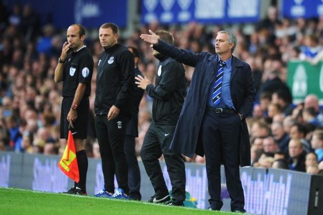 Chelsea Manager Jose Mourinho Is Feeling the Pressure After 6-3 Win over Everton