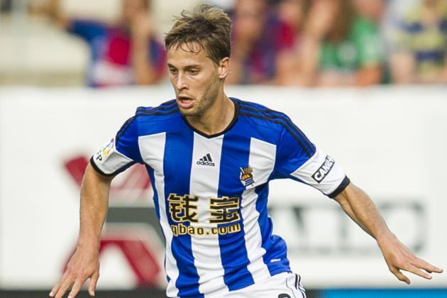 Sky: Villa Bid for Sociedad's Sergio Canales
