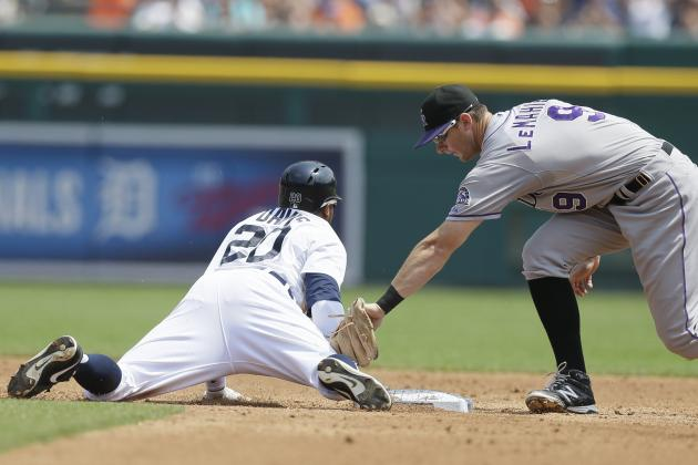 Tigers Outfielder Rajai Davis Records 300th Stolen Base of Career