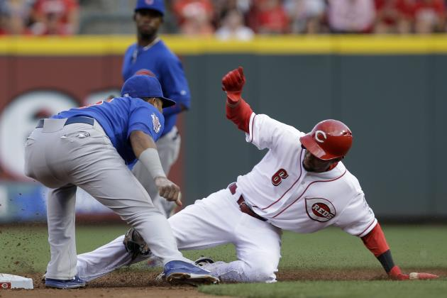 Reds' Billy Hamilton Matches Franchise Rookie Record with 54 Stolen Bases