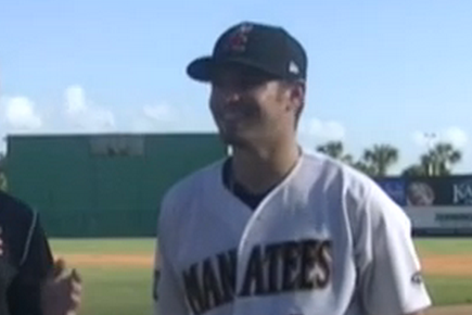 Nathan Orf, Brewers Minor League Player, Plays All 9 Positions in One Game