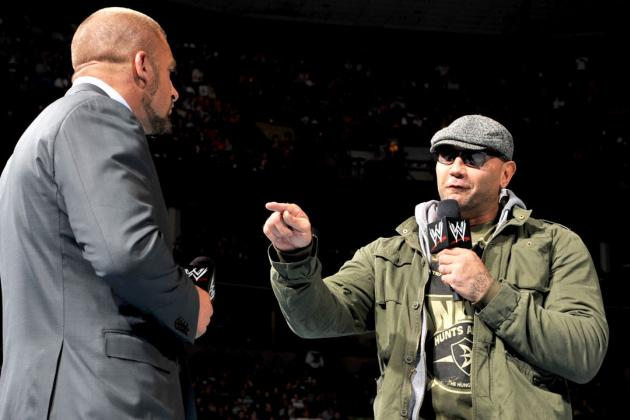 Batista vs. Triple H at WrestleMania 31 Would Be Wisest Use of 'The Animal'