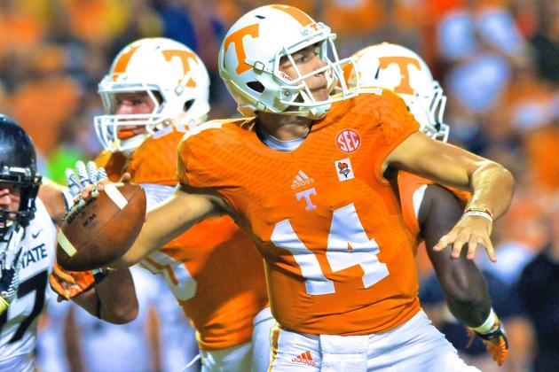 Tennessee Football: Justin Worley Proves Butch Jones Made the Right Choice at QB