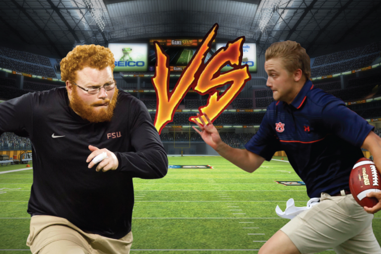 Clash of the Ball Boys: FSU's Red Lightning vs. Auburn's Blue Thunder