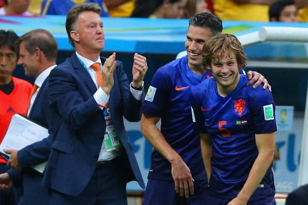 Daley Blind and Louis Van Gaal Win Major Dutch Awards After Deadline Transfer