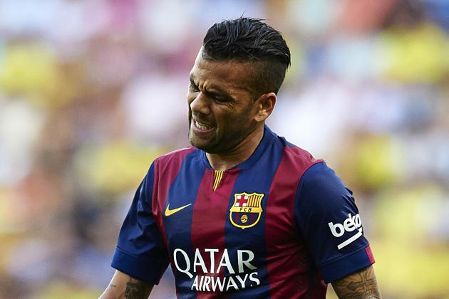 Barcelona Transfer News: Dani Alves to Leave in 2015, Mateo Kovacic Bid Revealed