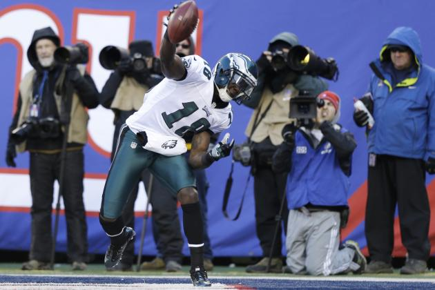 Jeremy Maclin's Health Key to Eagles' Passing Offense