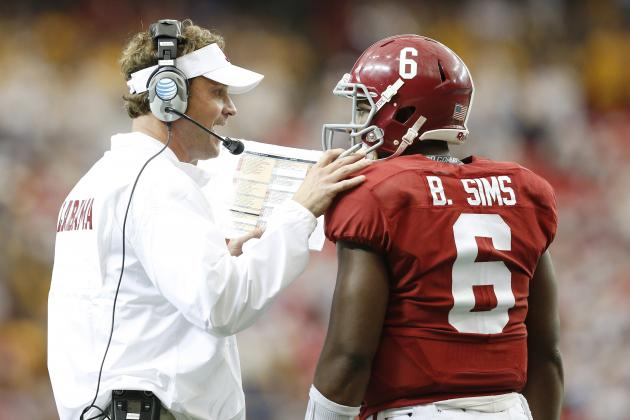 Saban: Bama Would've Had 'A Lot More Issues' If Kiffin Weren't on Sidelines