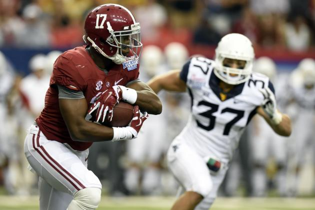 Expect More Kenyan Drake in Alabama's Offensive Plans Moving Forward