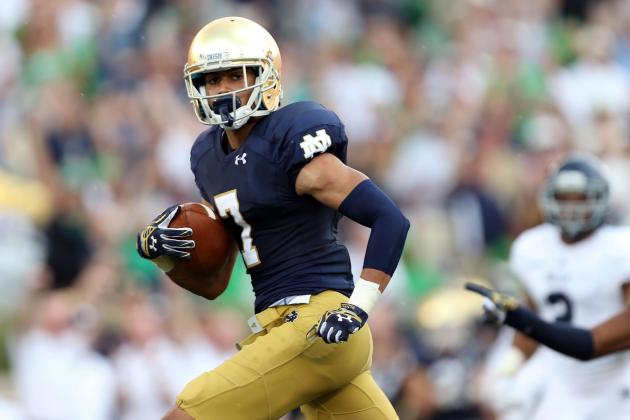 Notre Dame Receivers Catching on