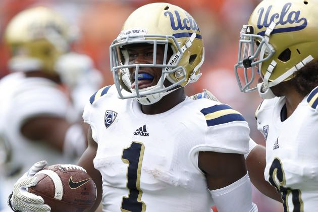 UCLA's Ishmael Adams Has a Chip That Gives Him an Edge