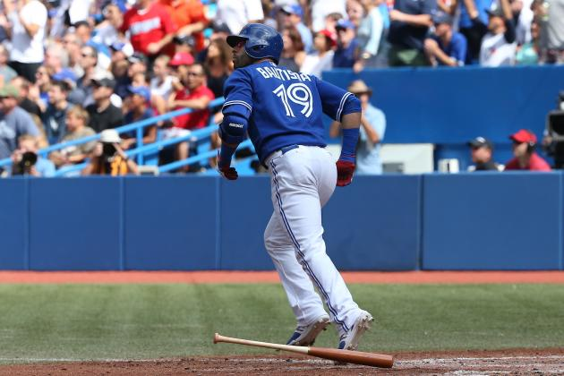 Blue Jays' Jose Bautista Looking to Homer in Franchise-Record 6th Straight Game