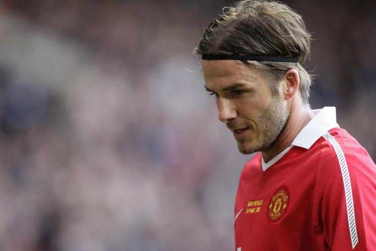 David Beckham Is Disappointed Danny Welbeck Left Manchester United