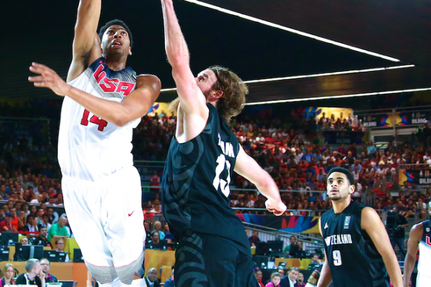 USA Basketball vs. New Zealand: Live Score, Highlights for FIBA World Cup 2014