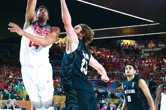 USA vs. New Zealand: Score and Twitter Reaction for FIBA World Cup 2014