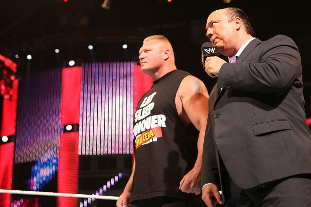 WWE Rumors: Examining Latest Buzz Around Brock Lesnar, Batista and More
